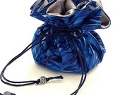 Drawstring Jewelry Pouch / Travel Jewelry Case / Jewelry Organizer / You Choose the Perfect Inside Lining Color