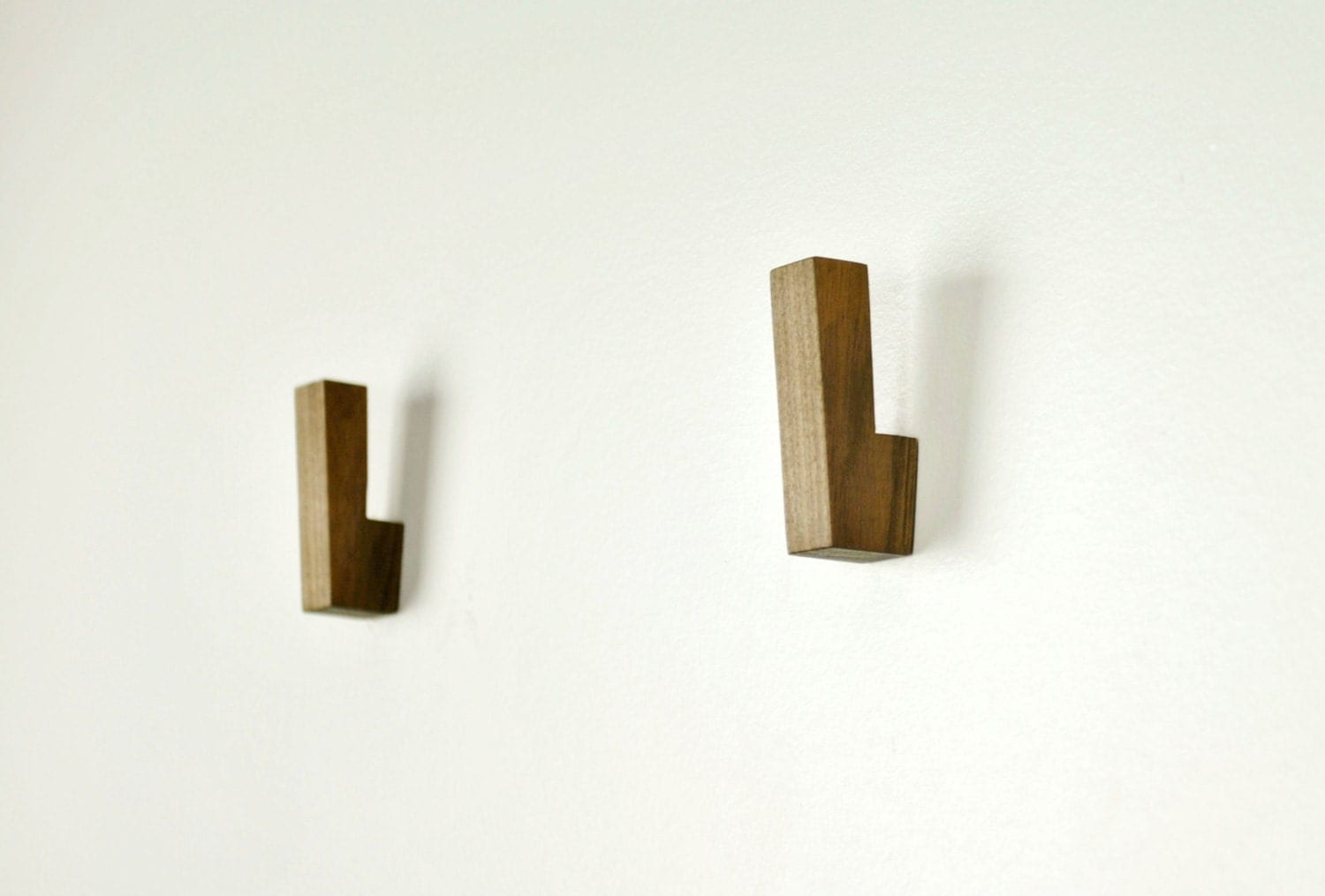 Wooden wall hooks wooden coat hooks wall hooks modern Hooks for the wall