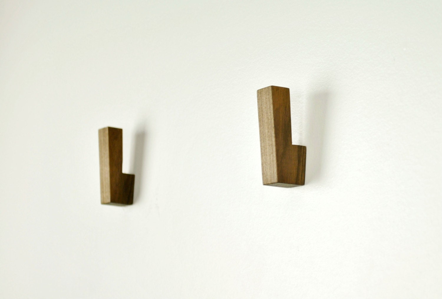 Wooden wall hooks wooden coat hooks wall hooks modern for Contemporary coat hooks