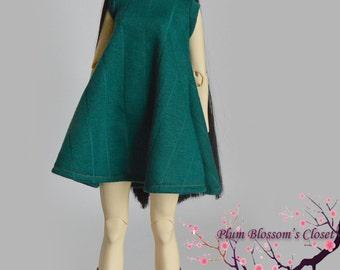 turtleneck tent dress for sd bjd, 60cm bjd, mirodoll, feeple60