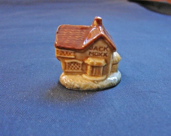 Wade Whimsies House that Jack Built Miniature Figurine Jack Moxx house Mother Goose Nursery Rhyme England Wade House