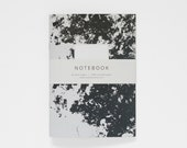 SALE! -- THE JANE notebook A5 / blank notebook / abstract journal / monochrome notebook