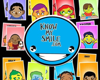 Know My Smile - Facial Expression Flashcards
