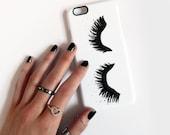 Upper East Eyelash phone case - iPhone 6, 6 Plus 5/5s 5C 4/4s, Samsung Galaxy S6 S4 S5