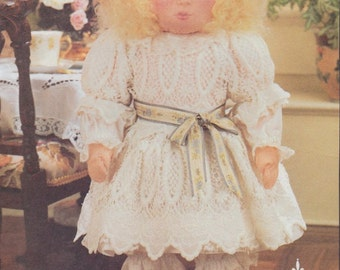 Linda Carr Victorian Doll and Clothing Patterns - Vogue Doll Collection #8240 for 19 Inch Articulated Doll