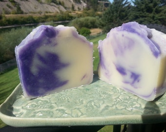 Huckleberry scented soap, soap bar, housewarming gift, bridal shower, teacher gift, body soap, shower soap