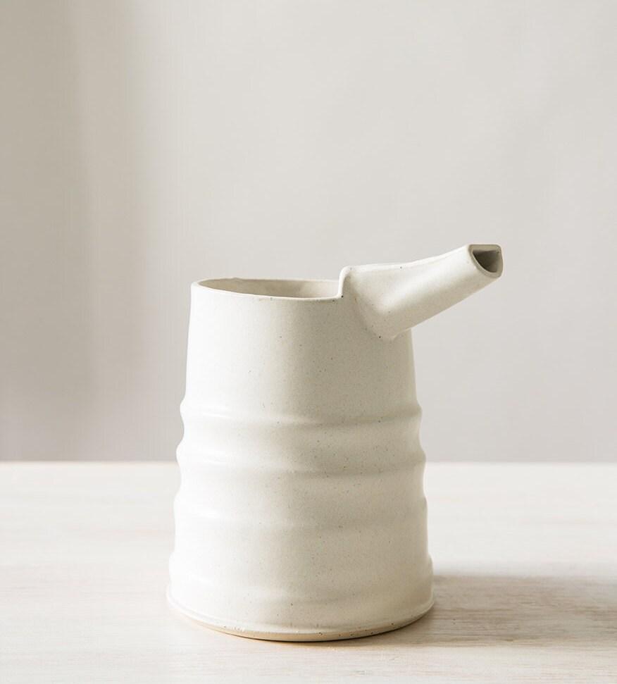 Modern Ceramic Vase White Flower Pot Modern Home Decor Vase