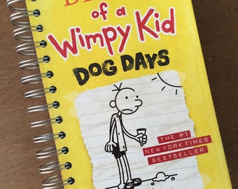 Diary of a Wimpy Kid Dog Days Journal Notebook