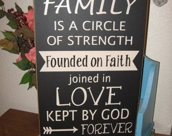 Family Sign,Wood Family Sign,Blended Family,Gallery Wall,Farmhouse Wall Decor,Farmhouse Chic,Housewarming gift,Primitive Wood Sign