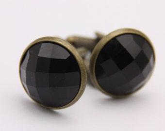 Cufflinks black(1616)