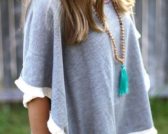 SALE HANDMADE Mala Tassel Necklace, BOHO Tassel Necklace, Tassel Yoga Jewelry,Gift Ideas,Best Friend, Birthday,Wholesale Jewelry