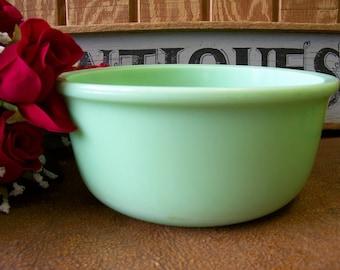 Vintage 1930s Jadeite / Jadite Star Rite Magic Maid Mixer Bowl Model-B - tithriftstore.etsy