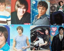 ZAC EFRON ~ Dirty Grandpa, High School Musical, Charlie St Cloud, The Lucky One, Paper Boy, Neighbors ~ Color Pin-Ups for Scrapbooking
