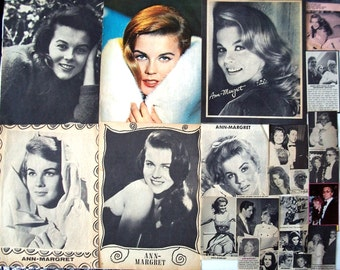 ANN MARGRET ~  Viva Las Vegas, Bye Bye Birdie, Grumpy Old Men, Tommy, Rusty Martin ~ Color and B&W Clippings, Pin-Ups from 1962-1979