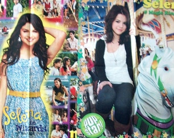 SELENA GOMEZ ~ Wizards Of Waverly Place, Love You Like A Love Song, Same Old Love, Hands To Myself ~ Color Posters fr Scrapbooking - Batch 2