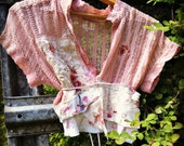 Wearable Art, Altered Couture, Faery, Boho, Free People, Gypsy, Summer Hippie Chic, Cottage Chic, Prairie Girl, Country Chic, Mori Girl