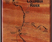 COLUMBIA RIVER MAP Fly Fi...