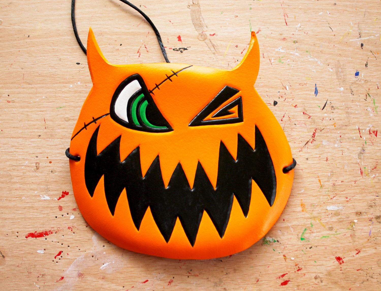 Kingdom Hearts Sora's Halloween Town Pumpkin mask/hat