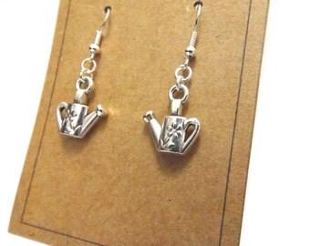 Watering Can Earrings, Garden Earrings, Gift for Gardener, Garden Gift, Spring Earrings
