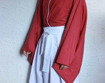 Rurouni Kenshin kimono cosplay costume