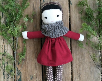 Lilly- A Handmade Doll