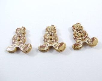 Dill Teddy Bear Buttons [330545]