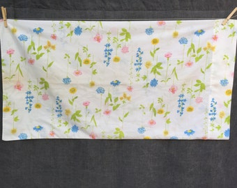 60's Wamsutta Ultracale Floral King Size Pillowcase