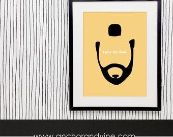 DIGITAL DOWNLOAD // Mr. T Print  // Funny Prints, Art Print, Poster, Framed Prints, Wall Decor, Home Decor, Pity the Fool, Retro Art