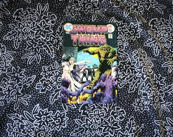 Swamp Thing #16 Vintage DC Comic Book. 1974 Swamp Thing Bronze Age 70s Comic Book. 70s Bronze Age Swamp Thing