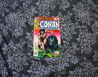 Conan The Barbarian #96 Vintage Marvel Comic Book. 1978 Barbarian Fantasy Bronze Age Comic. Vintage 70s Conan Barbarian Comic Book