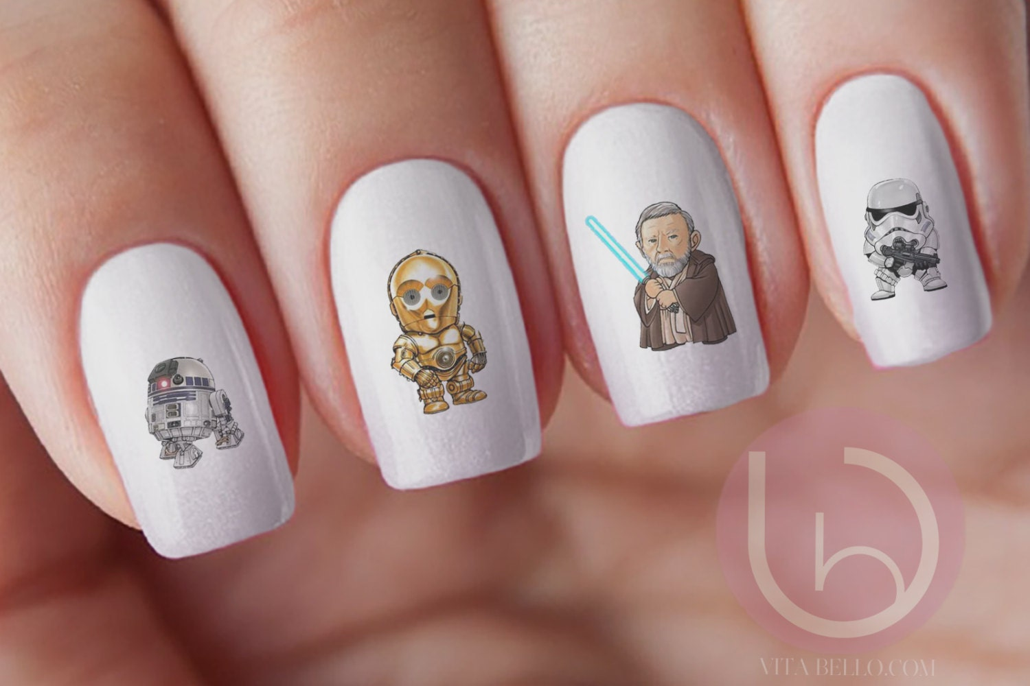 Fantastic Darth Vader Nail Collection - Nail Art Design Ideas ...