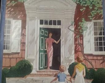 1933 House and Garden Magazine November A. E. Marty art cover