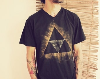 ALCHEMY • black hipster edgy gold silver print unique minimal