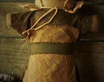Primitive Prairie Stump Doll