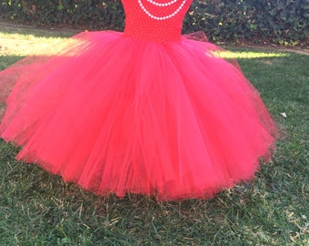 Olivia the Pig inspired Tutu Dress
