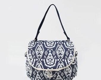 Aztec print Crossbody Messenger Shoulder Canvas Bag