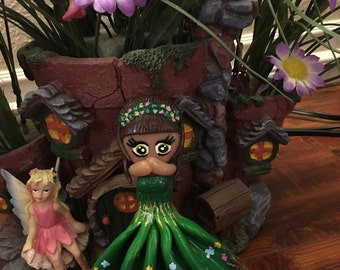 Polymer Clay Forest Doll