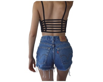 Levi's High Waisted Frayed Shorts ALL SIZES
