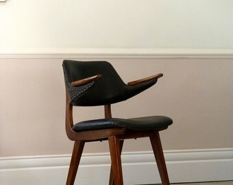 Vintage Mid-Century Danish Leather Chair