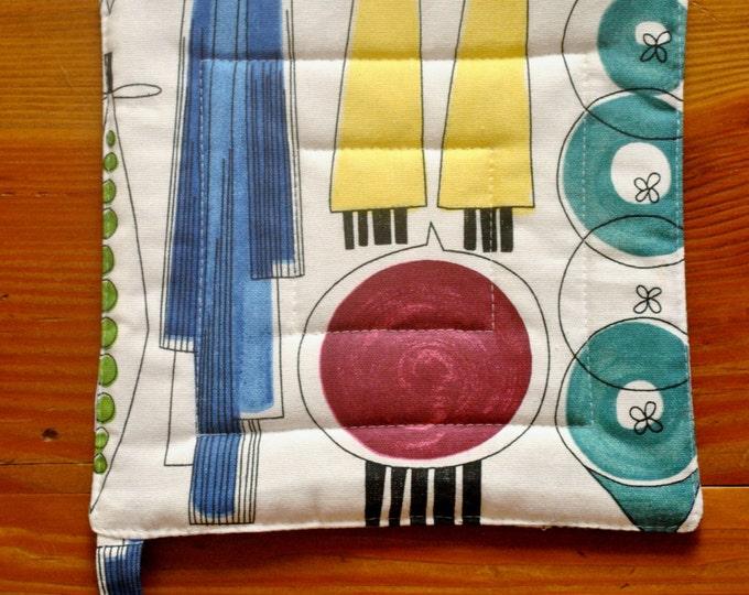 Picknick by Marianne Westman Swedish Pot Holder Scandinavian Modern