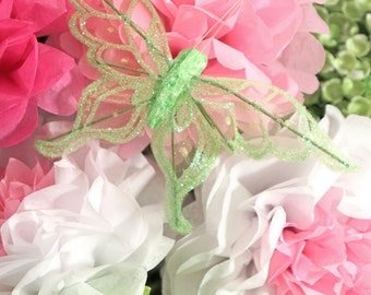 Butterfly Clip - Green