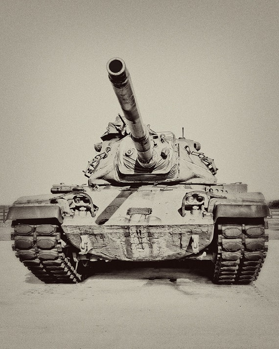 Man Cave With Tank : Tank photography man cave photo war vintage