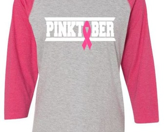 Breast Cancer Shirt ~ In October We Wear Pink ~ Breast Cancer Awareness Shirt ~ Pink Is The New Black Shirt ~ Hope Cancer ~ Pink Ribbon Shir