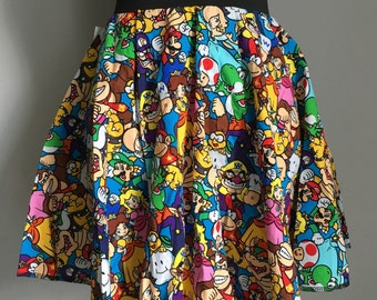 Mario and Friends mini skirt