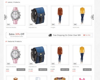 Ecommerce Website Design With Profession Shop Web Design, Woocommerce Integrated + Sell Unlimited Products.