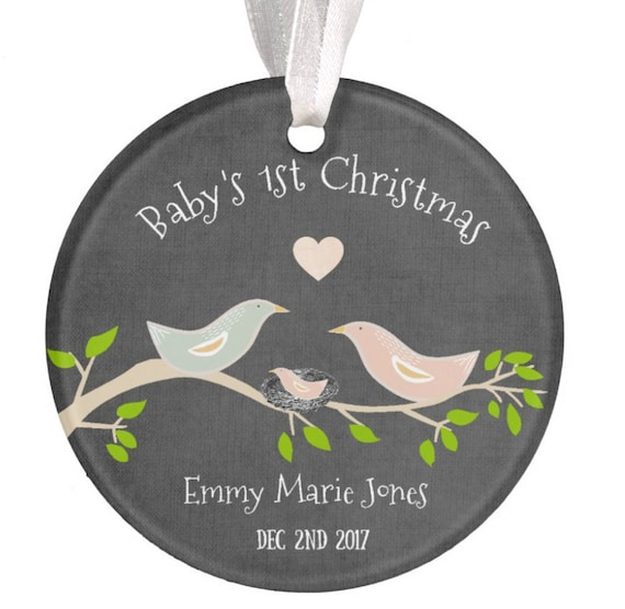 Baptism Ornament Christmas Ornament By Ryellecreations On Etsy: Personalized Baby Christmas Ornament Baby Gift By