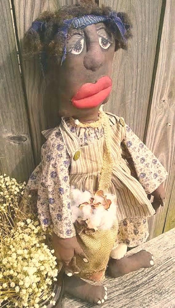 Black Doll-Ethnic Doll-Primitive Doll