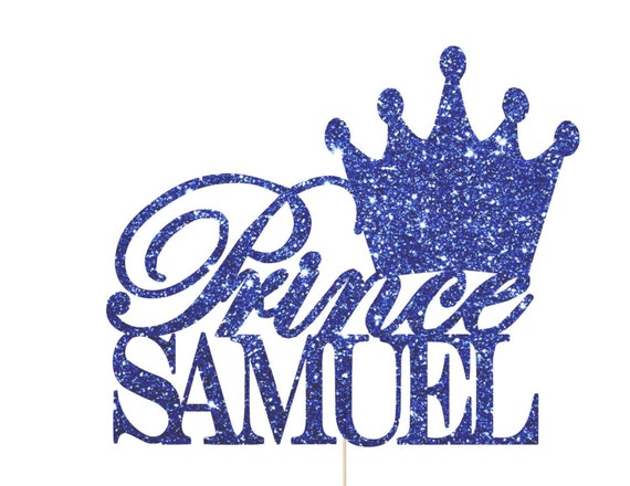 Royal Prince Baby Shower Decorations Prince Crown Cake