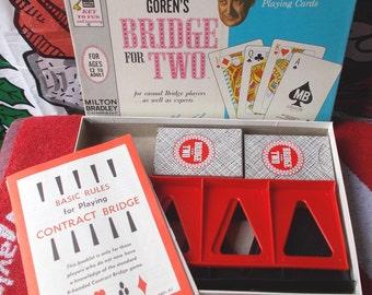 Vintage Goren's Bridge for Two Game Complete 1964