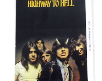1979 Atlantic AC/DC Highway to Hell 19244-2 Long Box Only